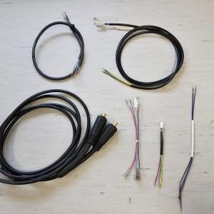 Razni končni izdelki iz kablov in žic